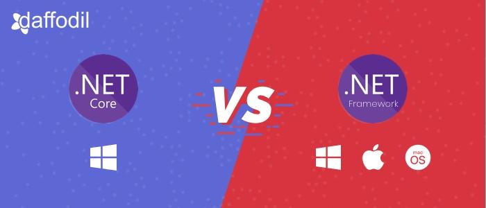 .net core vs .net framework