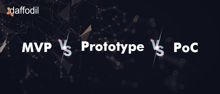 MVC vs Prototype Vs PoC