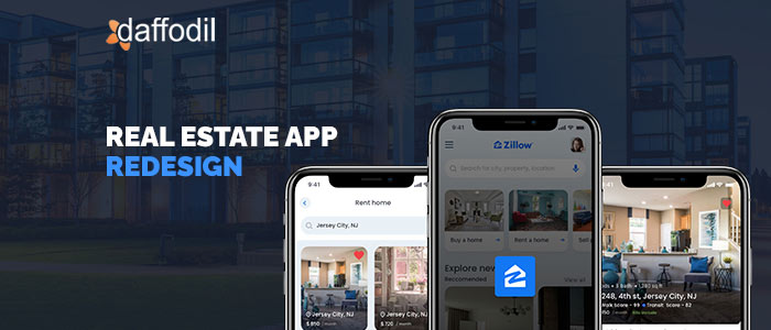 Zillow app redesign design thinking