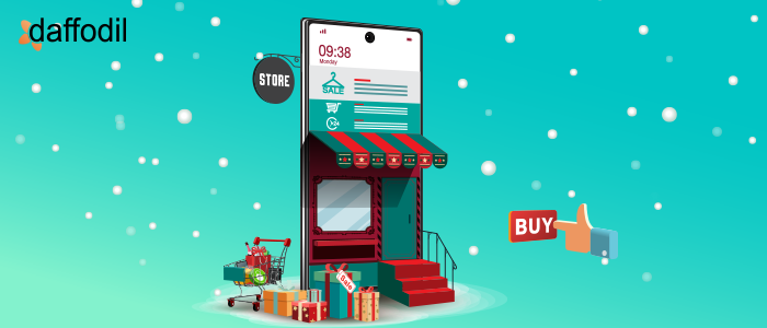 ecommerce store for holiday shopping
