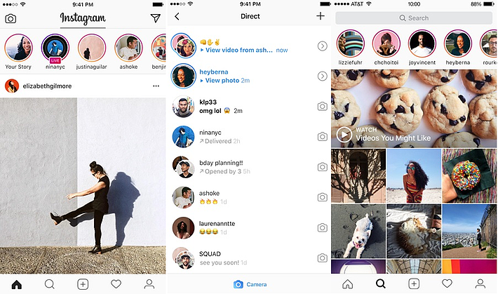 7 Amazing React Native Mobile Apps - Instagram