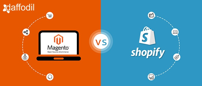 magento vs shopify for ecommerce development
