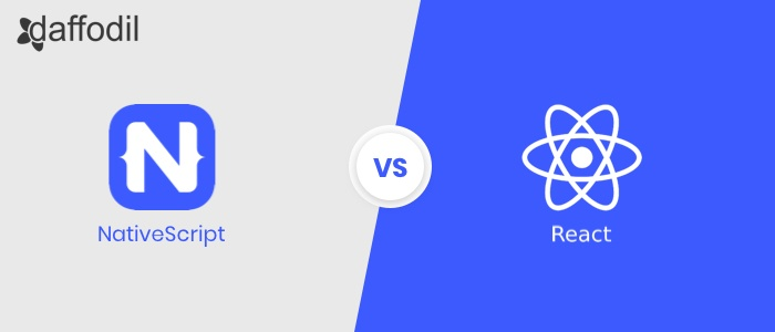 nativescript vs react native