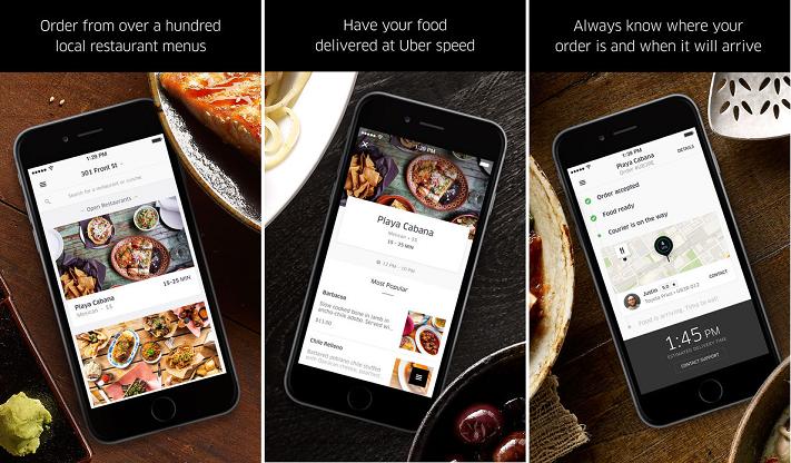 7 Amazing React Native Mobile Apps - UberEATS
