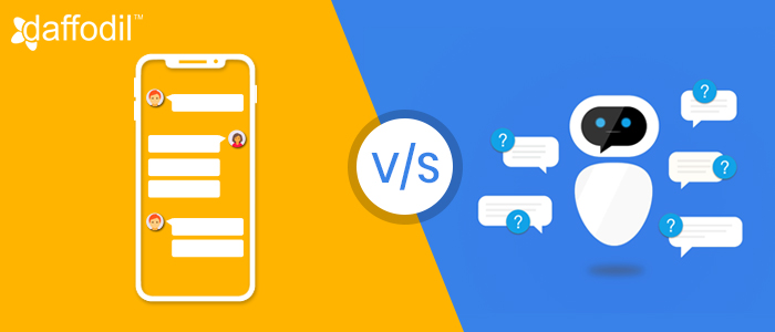 Chatbot vs app