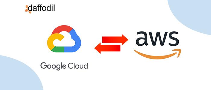 Google Cloud Platform to AWS transition