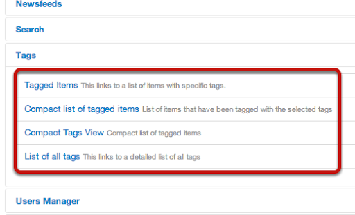 Joomla 3.1 Tags Feature 5