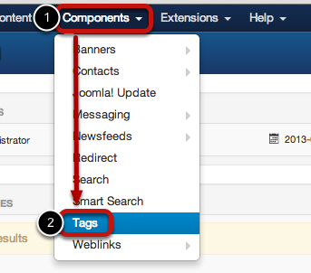 Joomla 3.1 Tags Feature1