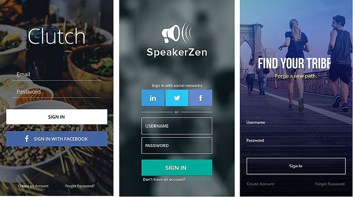 15 Login Screen Examples for Mobile App Developers