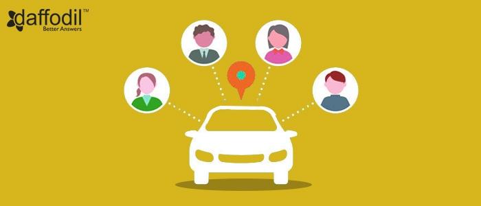 on-demand ride sharing