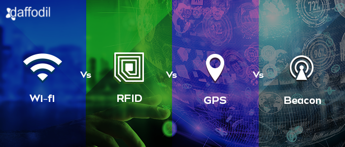 wifi vs RFID vs  gps vs beacons
