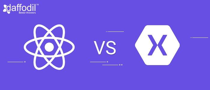 Xamarin vs React Native for Cross Platform App Development